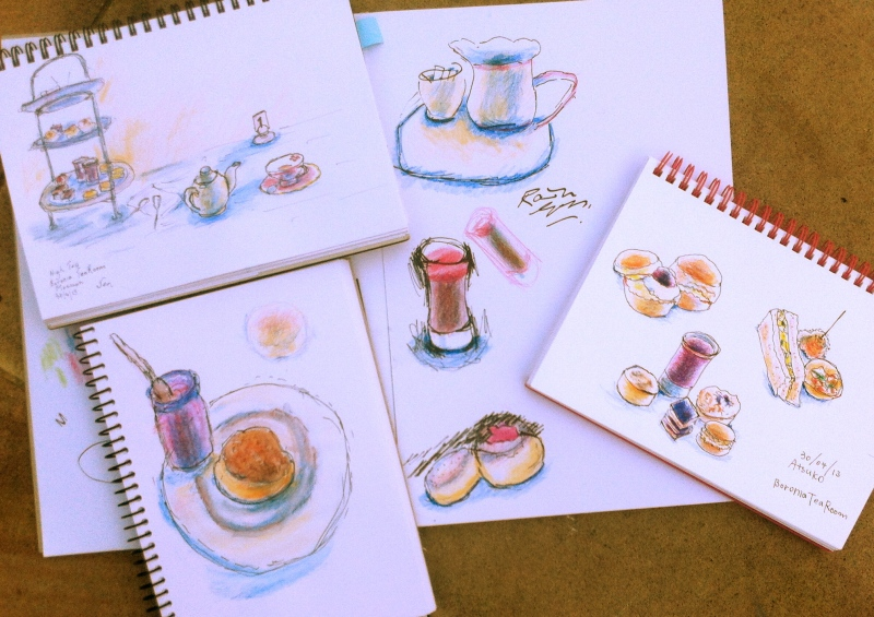 Cake Sketches 1