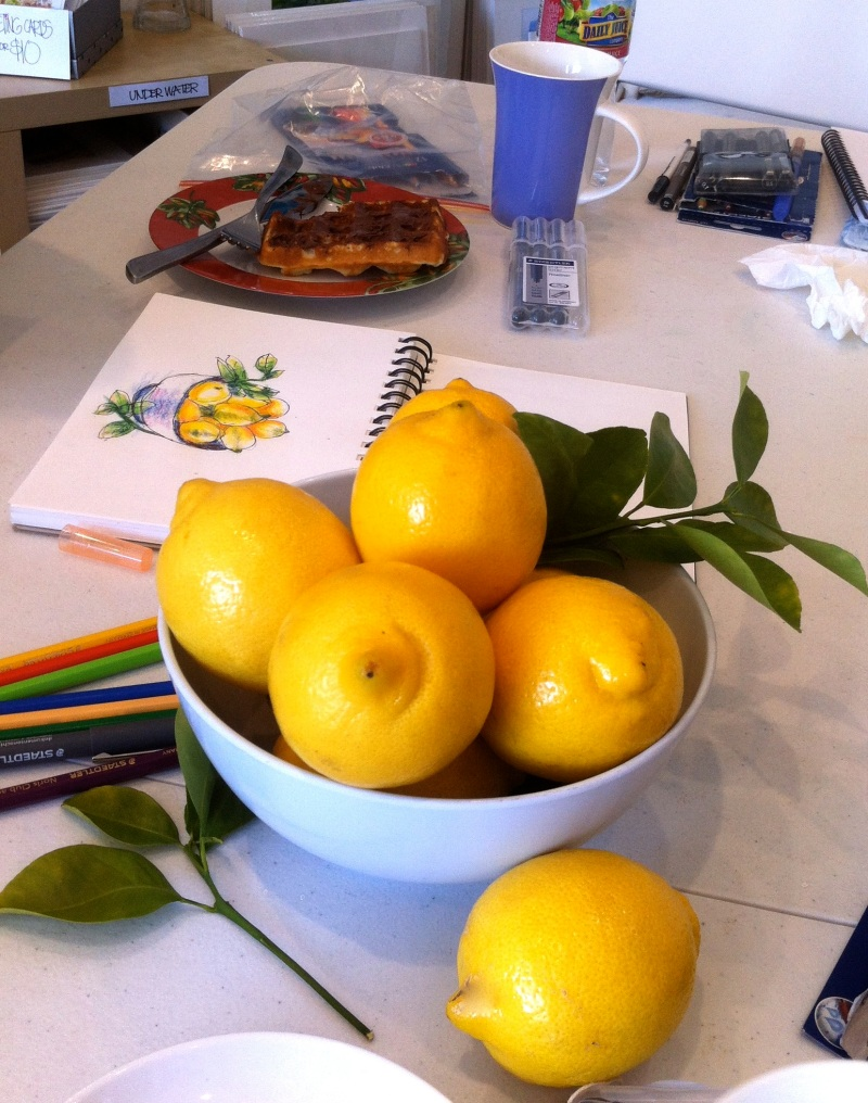 Citrons & gaufres