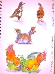 Leonie's 'home' sketch