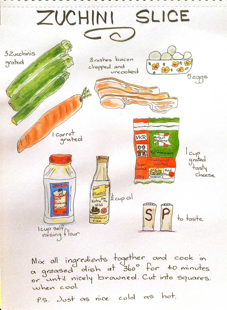 Illustrated Recipe by Barb