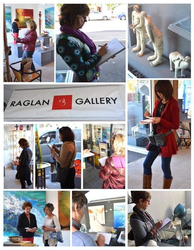 Raglan Gallery Sketching