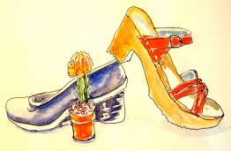 Heels and cacti