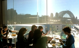 Harbour Bridge over lunch