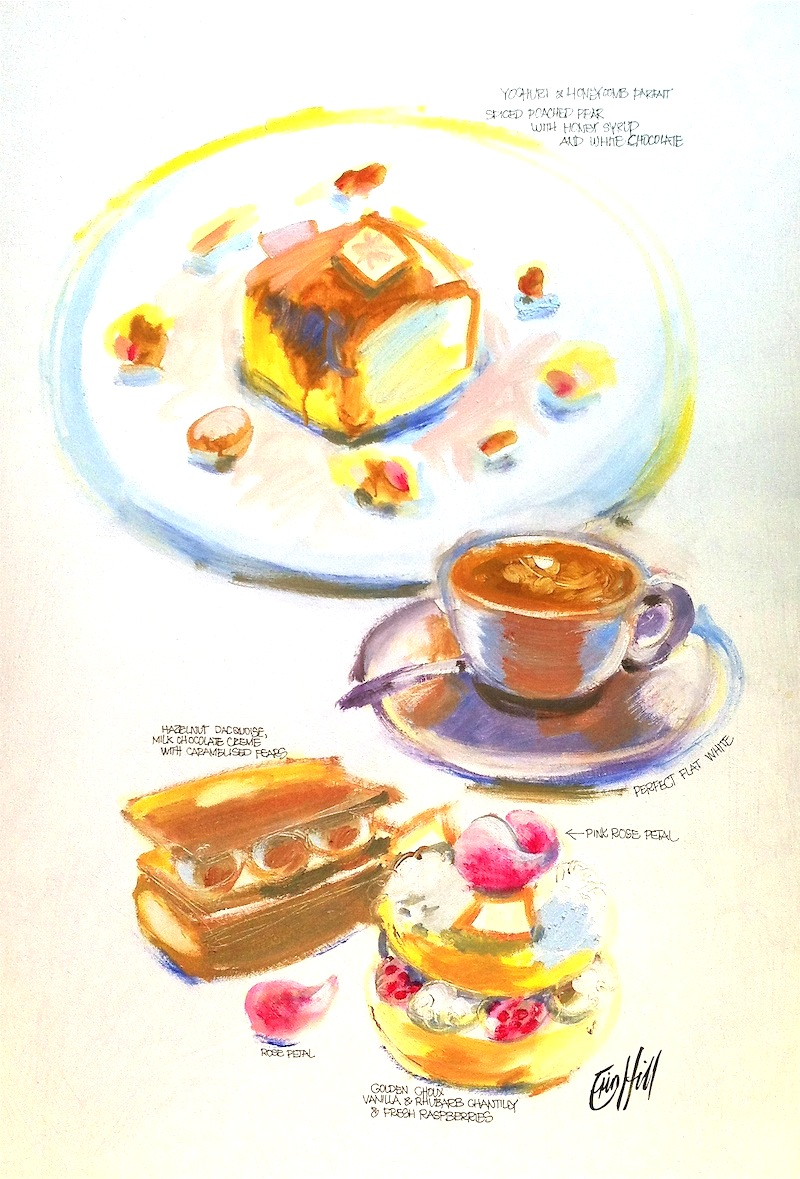 Sketch your Cake at Bather's Pavilion