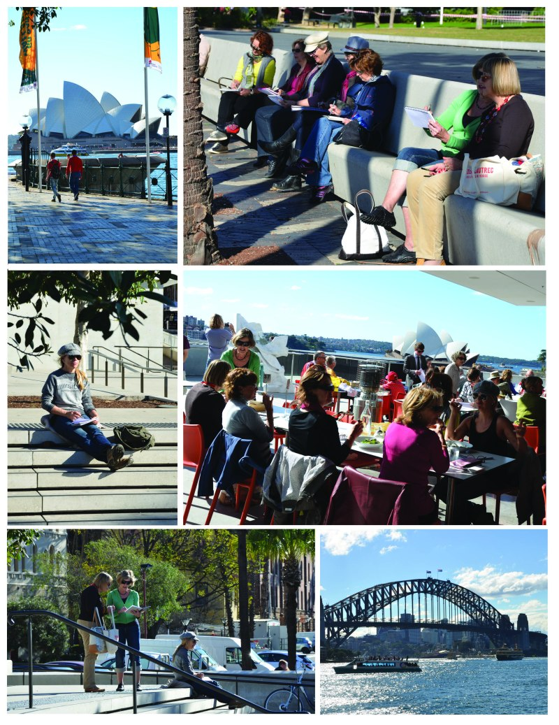 Sketching adventure at Circular Quay