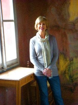 Erin at Bruno Cordati's Studio