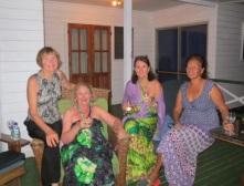 Ann, Jan, Jacquie and Martha