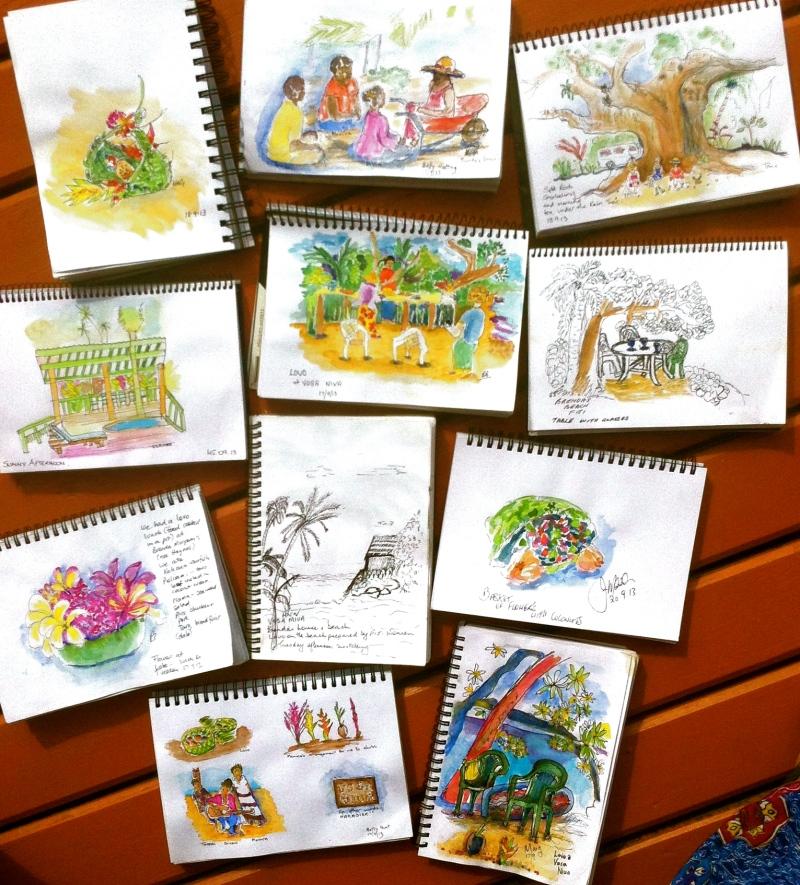 Brenda's Lovo sketches