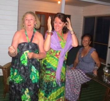 Jan & Jacquie 'dancing queens'
