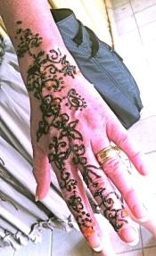 Karen. Henna Hand
