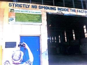 The biggest Copra factory