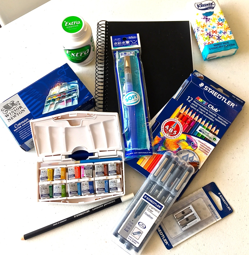 The ErinHill Travel Sketching Kit
