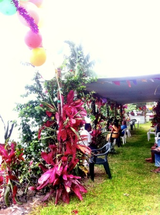 The Ganesh floral canopy