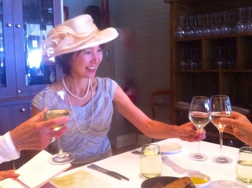 Atsuko says 'Cheers'