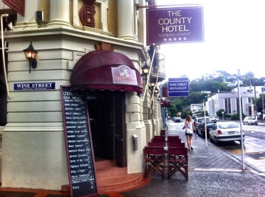 Edwardian style County Hotel Napier