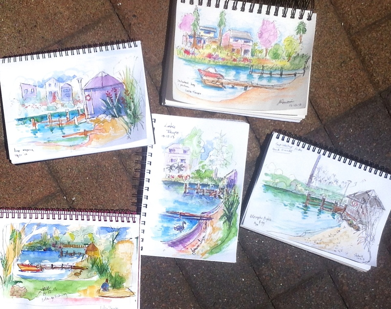 Lakeside sketches