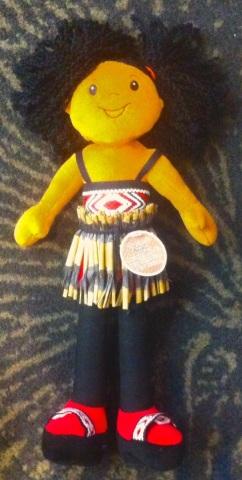 Little Maori doll