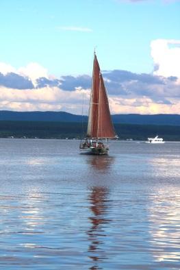 Sunset Cruise, yacht Barbery, Lake Taupo