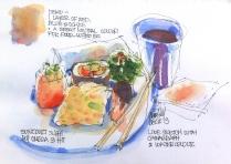 Taupo. Sushi sketch demo