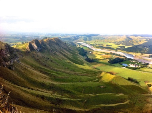 Te Mata Point Lookout vista. Havelock North