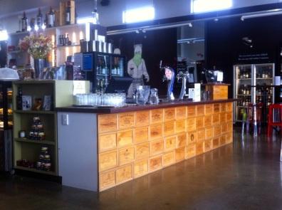 Vine Eatery counter
