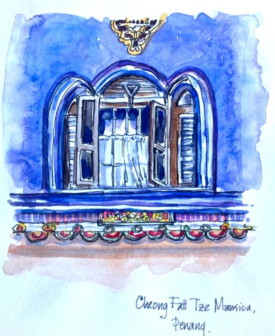 Judy Salleh. Penang mansion. Jan 21 '14