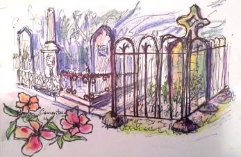 Old cemetery. Jan '14