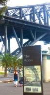 Up to the bridge
