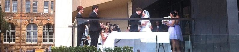 Wedding at the Hyatt