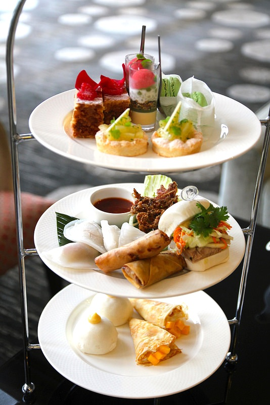 Your 3 -tiered Chinese NY High Tea.