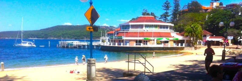 Manly Cove and the beach