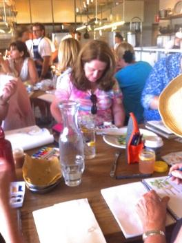Table at Papi Chulo.