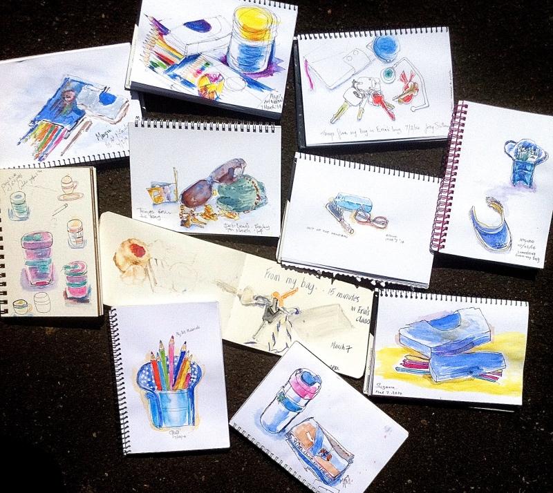 Friday Art or bag sketches
