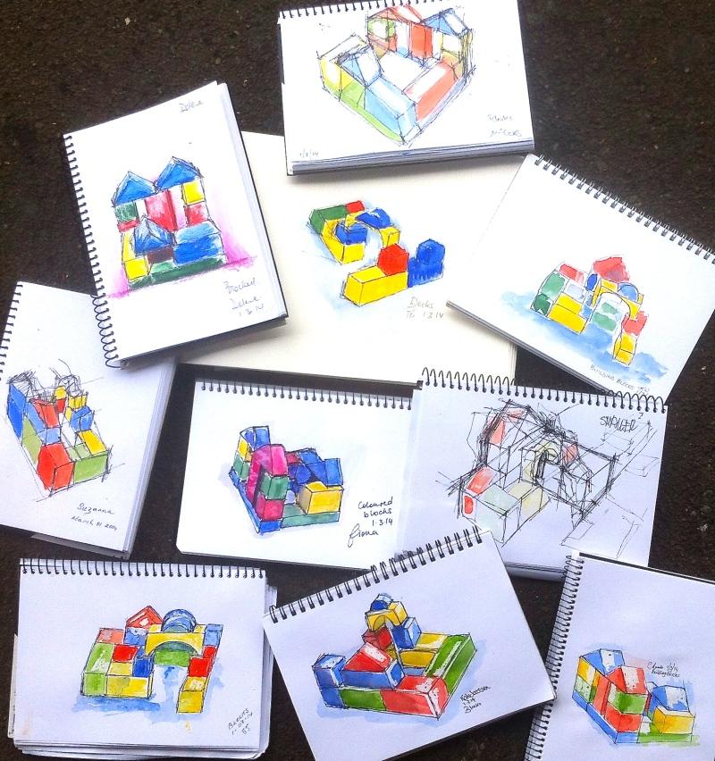Saturday building blocks