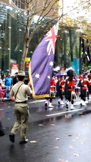 Classic Aussie Anzac and flag
