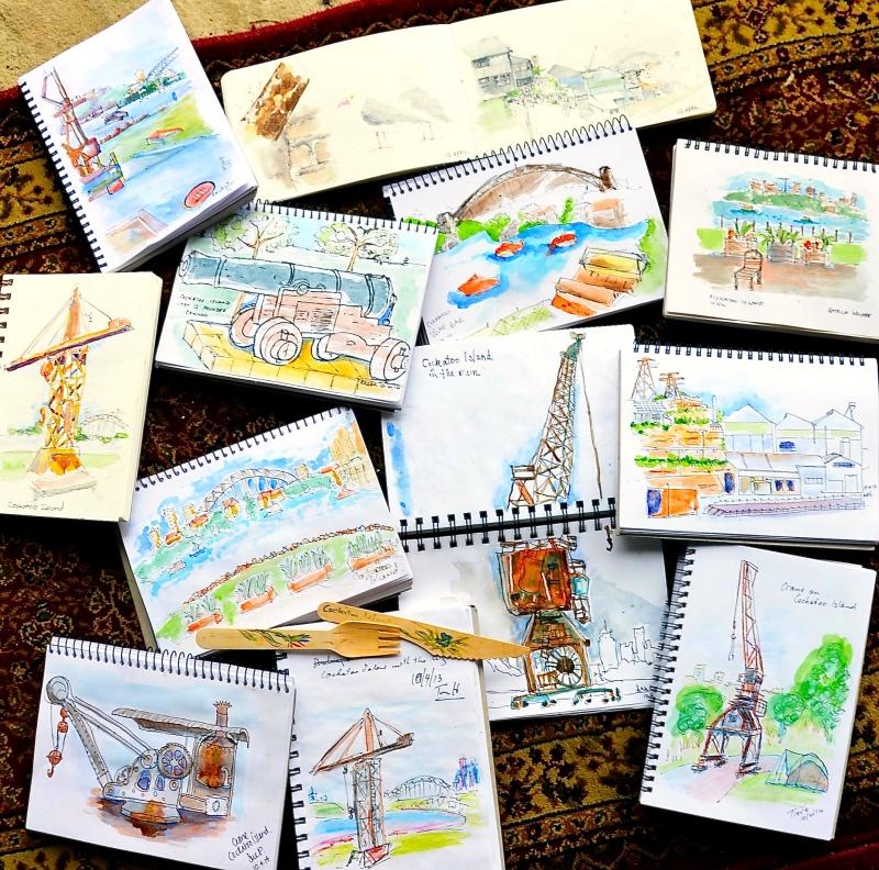 Thursday more sketches