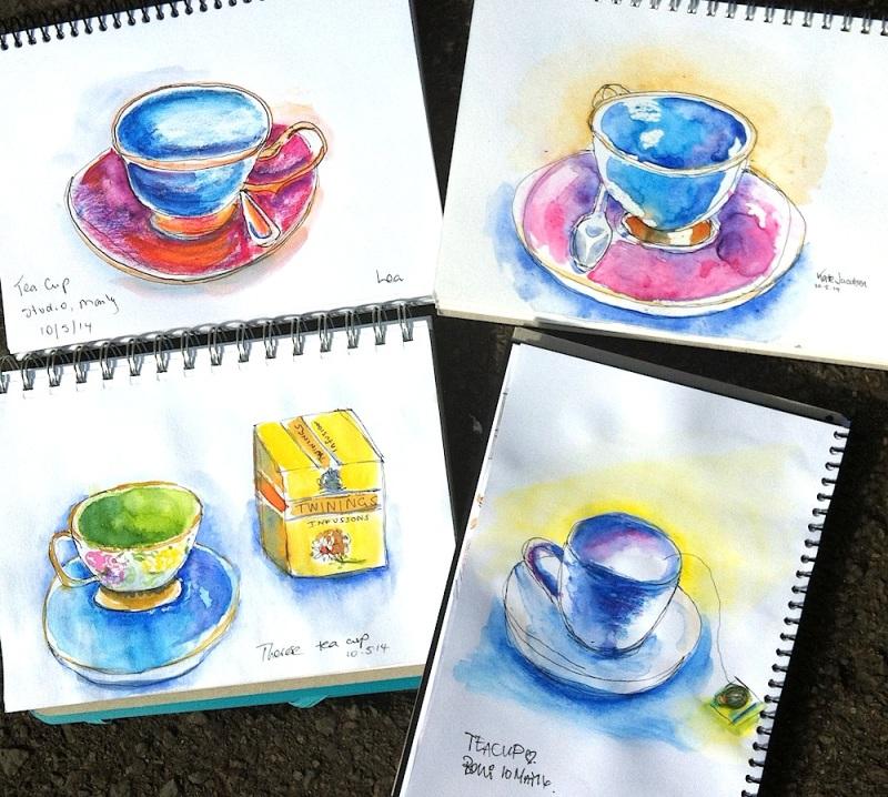 Saturday Teacups