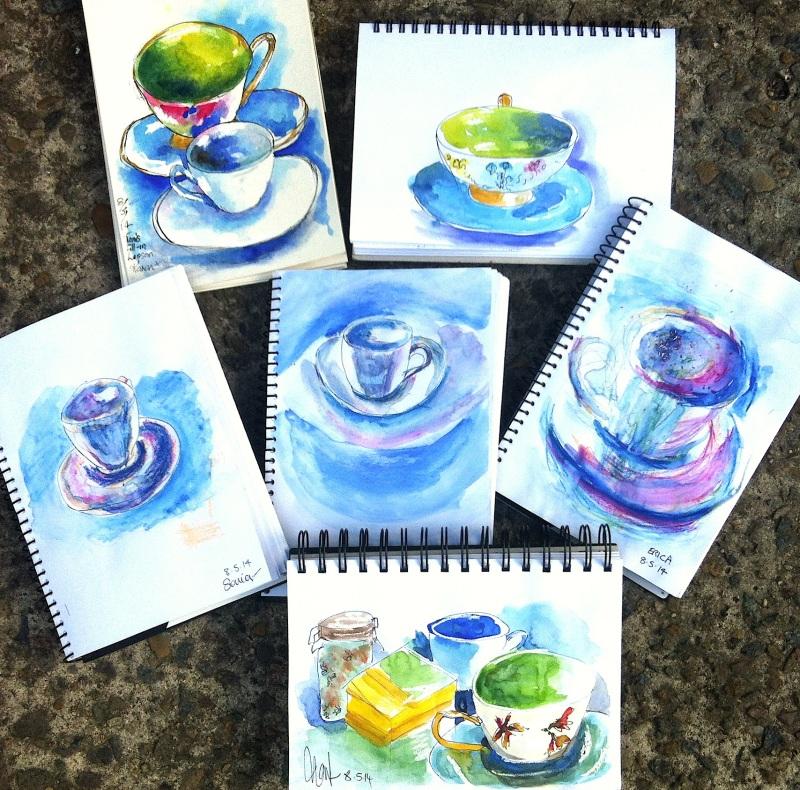 Thursday 1. Teacups