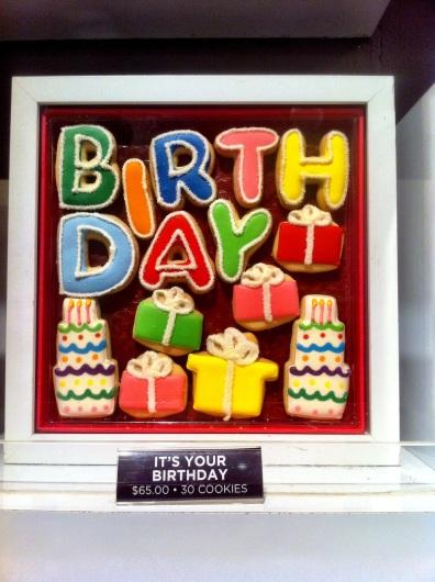 Eleni birthday cookies