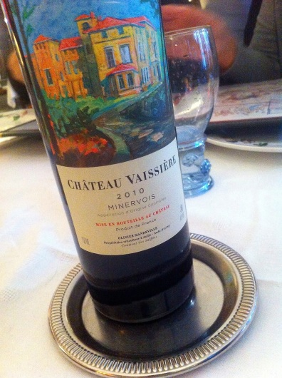Frederic chose this wine for us.