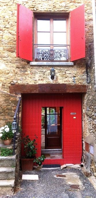 Front entrance, La Bergerie