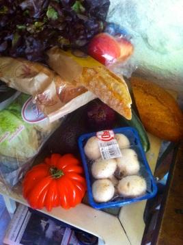 Lunch at Summer Kitchen Garden.