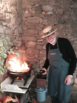 Milton our BBQ expert!