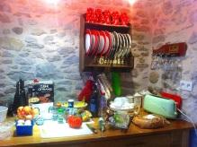 The kitchen, La Bergerie