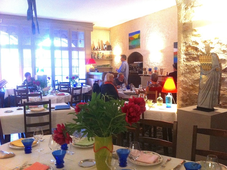 The new decor. Hotel D'Alibert