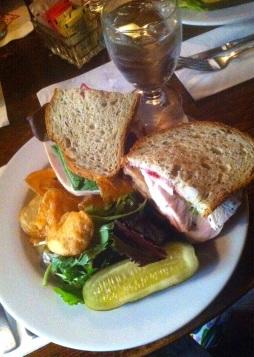 Turkey Sandwich, The Red Lion Inn
