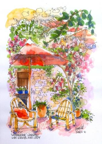 The garden sketch