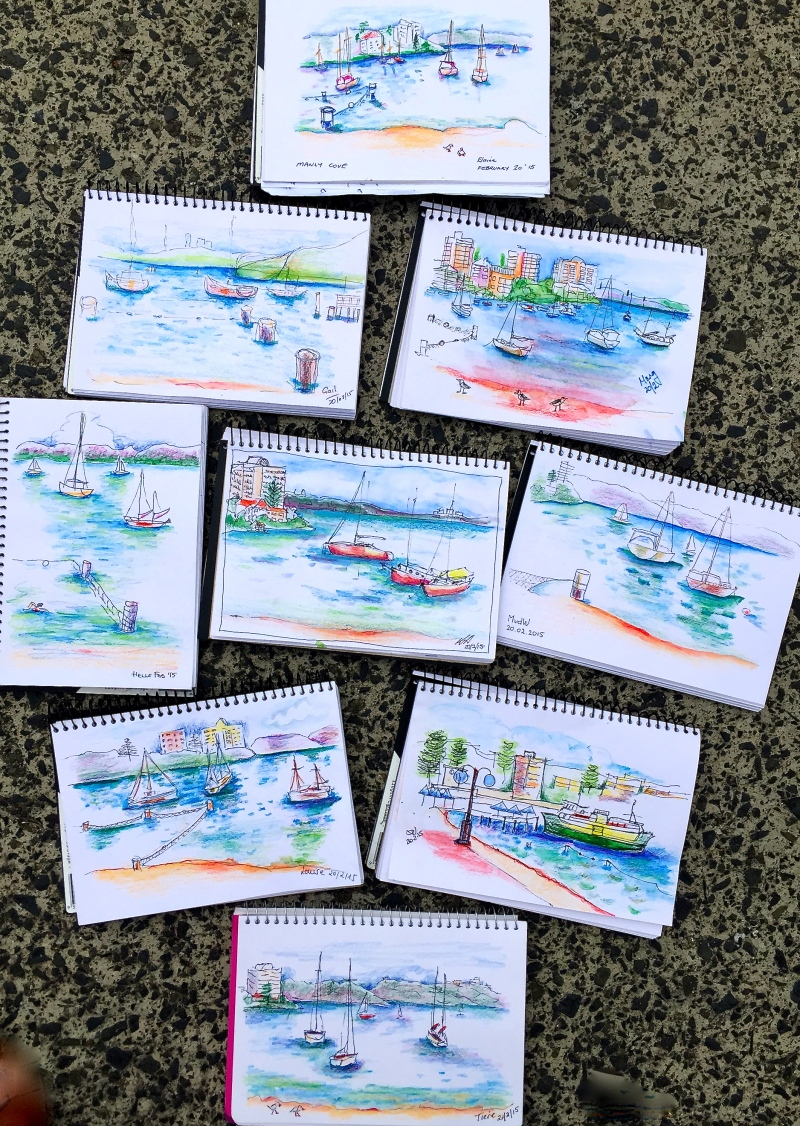 Friday Sea Sketches