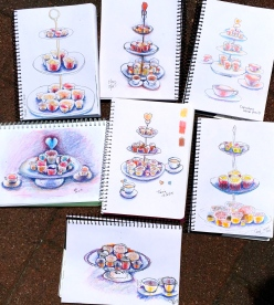 Friday Valentines Sketches
