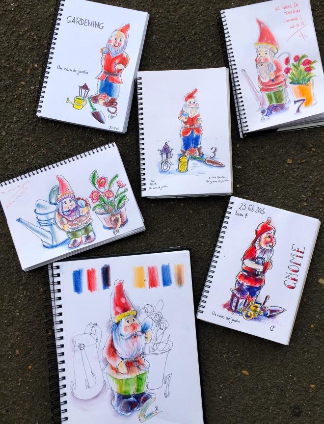 S&F Gnome sketch